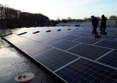 Berko compressoren Wijchen 270 PV panelen