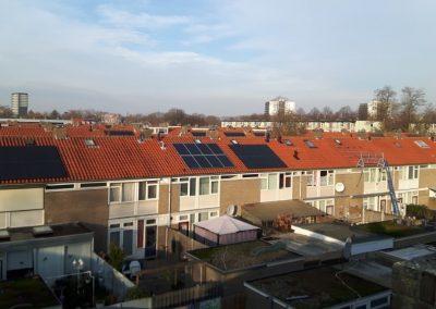 Renovatiewoningen Eindhoven 1920 PV panelen 240 woningen