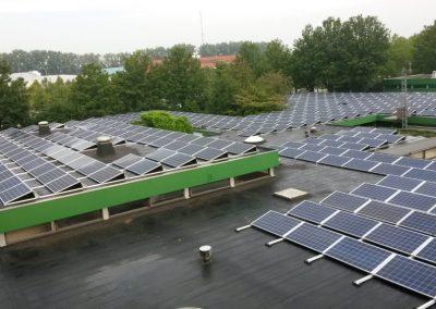 Studentenpand Tilburg 512 PV panelen