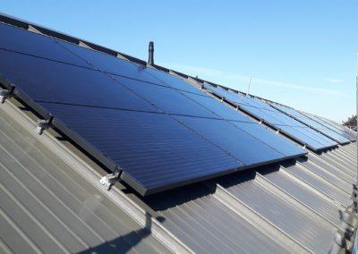 Veghel renovatiebouw 702 PV panelen 78 woningen